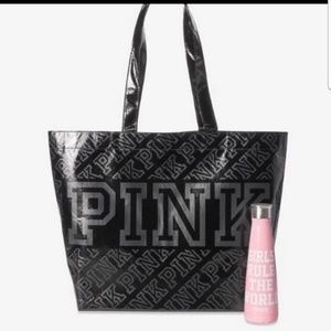 PINK by Victoria's Secret large tote/ water bottle